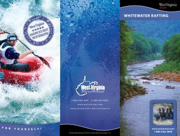 WHITEWATER RAFTING - West Virginia Department of Commerce