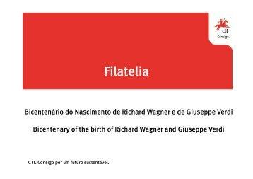 Emissão_Bicentenário do Nascimento de Verdi e Wagner - CTT