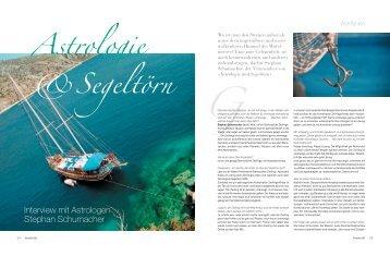 Astrologie &Segeltörn - Beautiful Life - das Magazin für inneren und ...
