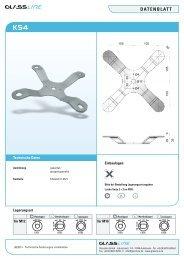 Datenblatt KS4 - Glassline GmbH