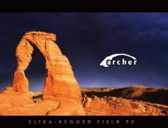 Archer Brochure - Juniper Systems