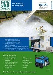 Diserbo ecologico con il sistema HWS - ipros