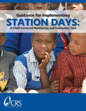 Guidance for Implementing Station Days - CRS Technical Resources