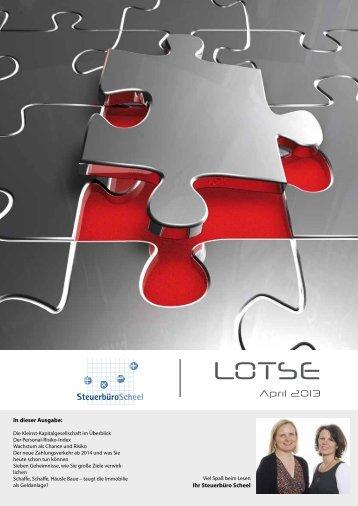 Lotse April 2013 - Steuerausblick