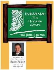 hoosiers in history - Indiana House Democratic Caucus
