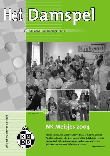 HD 0403 - Het Damspel - Koninklijke Nederlandse Dambond