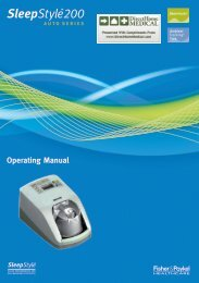 SleepStyle HC254 Auto CPAP User Guide - Sleep Restfully, Inc.