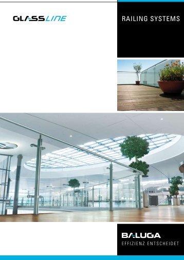 Brüstungssysteme - Glassline GmbH