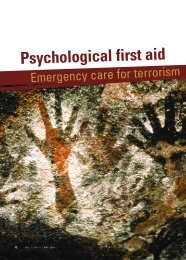 Psychological first aid - Current Psychiatry