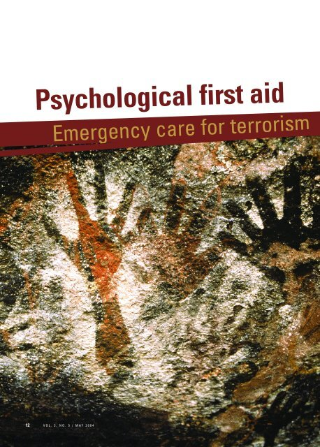Psychological First Aid Current Psychiatry