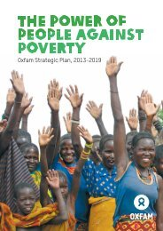 Oxfam Strategic Plan, 2013-2019 - Oxfam International