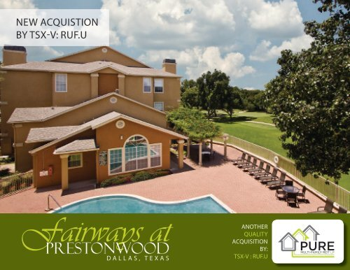 May 2013 Fairways at Prestonwood Mail Out - Pure Multi-Family ...