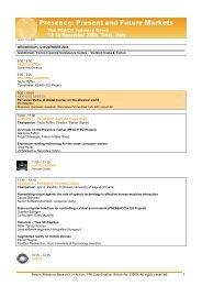 PEACH program.pdf - Peach   - Presence Research in Action