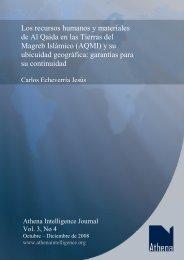 Los recursos humanos y materiales de Al Qaida en las Tierras del ...