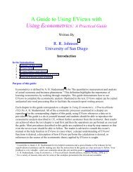 Chapter 12: Time Series Models