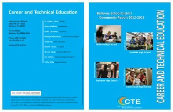 Career and Technical Education - Bellevue School District