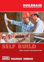 Credit account application form - Buildbase Builders Merchants