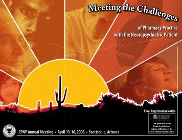 Download the 2008 Annual Meeting Brochure - College of ...