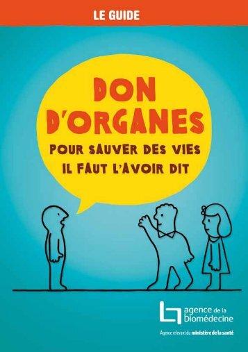Don d'organes - CHU Brest