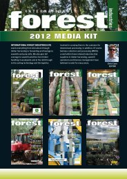 IFI Media Pack A4_2012:08 - International Forest Industries (IFI)