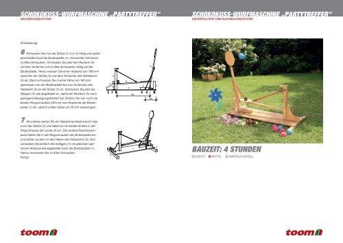 Schokokuss Wurfmaschine