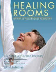 Healing Rooms lehti 2/2010 - Healing Rooms Finland ry