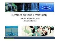 Hjemmet og vand i fremtiden - Fremtidsforskeren Jesper Bo Jensen
