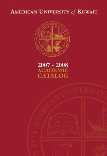 2007-2008 Academic Catalog (4-Aug-2007).indd - AUK