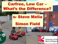 Carfree, Low Car – What's the Difference? - World Carfree Network