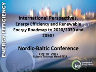 International Perspectives. Energy Efficiency and ... - Rohevik