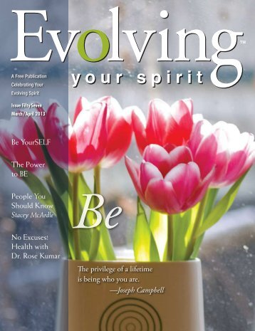 BEing - Evolving Your Spirit