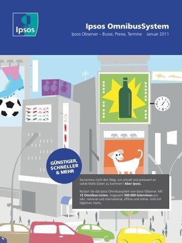 können Sie unseren aktuellen Busfolder downloaden! - Ipsos GmbH