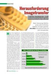 Herausforderung Imagetransfer. Das Co-Branding der Mobilfunk ...