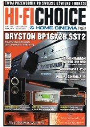 HIFI CHOICE – Accuphase E-250 - Eter Audio