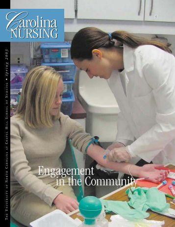 Carolina Nursing, Spring 2003 - School of Nursing - The University ...