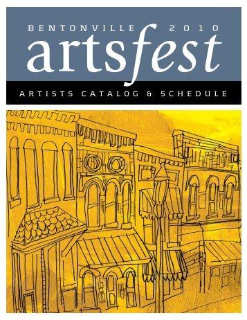 artistscatalog & schedule - Bentonville Public Schools