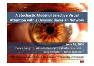 A Stochastic Model of Selective Visual Attention ... - ResearchGate