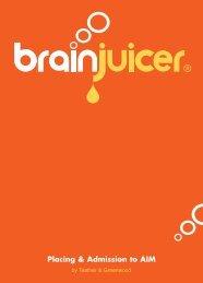 Admission Document - BrainJuicer
