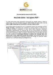 Nouvelle alerte : les spams PDF ! - Vade Retro Technology