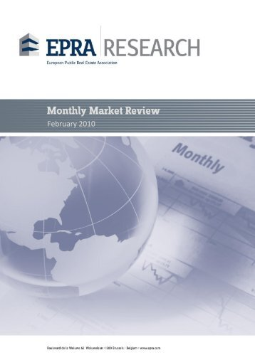 Monthy Statistical Bulletin | January 2009 - EPRA