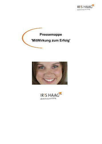 Pressemappe_ IRIS HAAG Training & Beratung