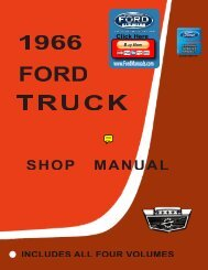 DEMO - 1966 Ford Truck Shop Manual - FordManuals.com