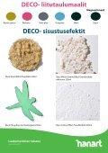 deCO- liitutaulumaali - HanArt.Info - Page 4