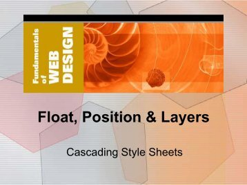 6. Float, Position & Layers - Elktech.org