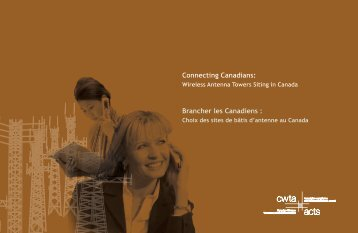 Connecting Canadians: Brancher les Canadiens : - ACTS