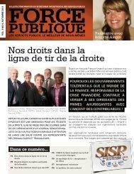 Automne 2011 - Syndicat de la Fonction Publique du Québec
