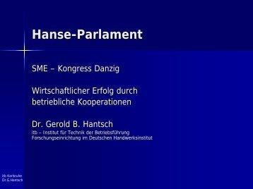 Erfolgskonzept: 4Ps - Hanse-Parlament