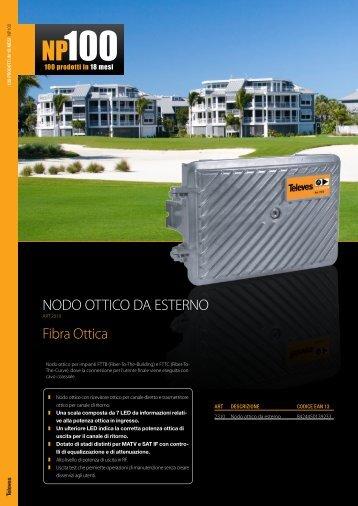 Fibra Ottica NODO OTTICO DA ESTERNO - C2D Technology