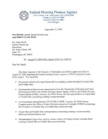 Fannie-Freddie Documents 2 - Judicial Watch