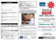 Melbourne TC1240.pmd - Australian Asphalt Pavement Association
